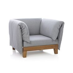 Party Lounge Chair With Arm Cushions