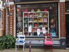 Amsterdam: cute shop by What Katie Does, via Flickr