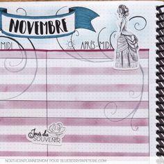 Inspiration pour ton planning ! Collection Victoria pour embellir ton agenda.