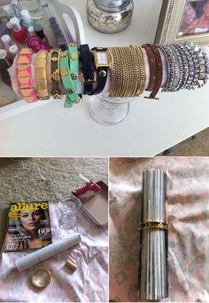 DIY Bracelet and Bangle Holder