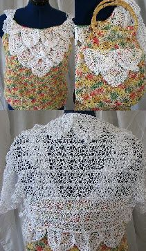 Peppercorn yarn top, purse and lace shrug free crochet patterns