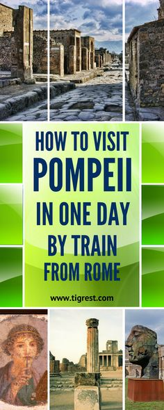 Pompeii day trip from Rome Italy Tips for visiting Pompeii Italy – how to get there, things to do and see, where to eat, how to get tickets and much more! Italy Travel Tips, Rome Travel, New Travel, Travel Europe, China Travel, European Travel, Hotel Rome, Voyage Rome, Day Trips From Rome