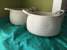rope baskets by: Missy Ashton