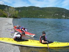 Start of kayak from Kinloch to Whanganui Bay