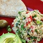 Quinoa Tabbouleh - this is so freakin good...just made it for dinner last night...so easy...so yummy and leftovers are even better!