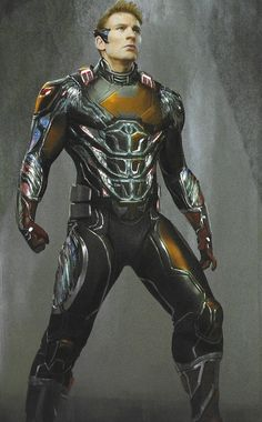"""Earth's Mightiest Heroes donned some very cool """"Team Suits"""" in Avengers: Endgame but this crazy concept art puts Captain America in a number of different designs which need to be seen to be believed. Marvel Concept Art, Game Concept Art, Marvel Art, Marvel Heroes, Marvel Characters, Captain Marvel, Captain America, Marvel Comics, Ant Man Suit"""