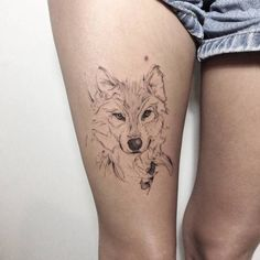 ▷ wolf tattoo models for women and men- ▷ modelos de tatuajes de. - ▷ wolf tattoo models for women and men- ▷ modelos de tatuajes de lobo para mujeres - Wolf Tattoos For Women, Tattoo Women, Tattoo Designs For Women, Tattoos For Guys, Paar Tattoos, Neue Tattoos, Body Art Tattoos, Sleeve Tattoos, Tatoos