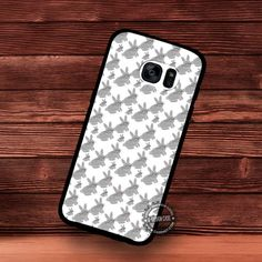 Rabbit Pattern Background - Samsung Galaxy S7 S6 S5 Note 7 Cases & Covers