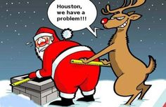 Santa Claus troubles - Santa obesity problem