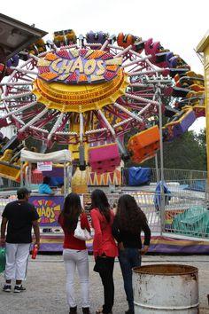 Juegos mecánicos en la feria de Tlaxcala 2013