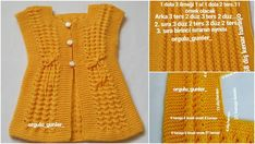 Let's Knit Vests with Nako Luxury Minnosh – Styles Times Baby Knitting Patterns, Knitting Stitches, 6 Month Old Baby, Baby Vest, Knit Vest, Easy Knitting, Travel Size Products, Pullover, Diy And Crafts
