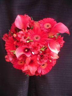 Spectacular all red bouquet!