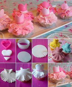 Dancer cupcakes!