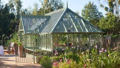 Bespoke aluminium victorian greenhouses