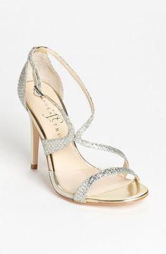 pretty sandal for a prom dress