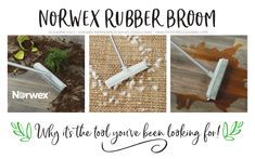 Why The Norwex Rubber Broom Is The Tool You