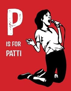 The coolest feminist children's book, where P is for Patti