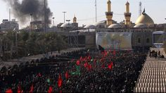 Hundreds of thousands pack Karbala for Ashura |