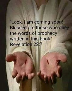 """""""Believers are called not only to guard or protect the book of Revelation, but also to obey it. Jesus Quotes, Bible Quotes, Revelation Study, Jesus Is Coming, Prayer Verses, Favorite Bible Verses, Believe In God, Quotes About God, Names Of Jesus"""