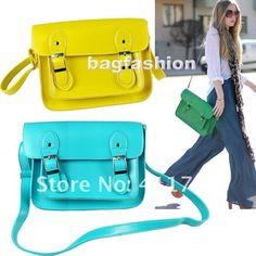 Retro Korean Vintage bag fashion handbag Campus College bags girls Satchel Messenger Briefcase Shoulder Bag Strap 5203