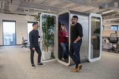 Framery O Forgerock | Creating Happy Offices | Sound Proof Acoustic Phone Booths | Framery UK & Office Blueprint