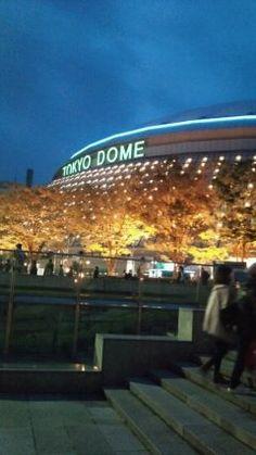 やっと仕事も終わり今から東京ドームの水道橋付近で同僚と2人飲み会 東京出張が最近多いですが東京ドーム付近のイルミネーションも鮮やかになってちょっとした観光スポットになっていますよ tags[東京都]