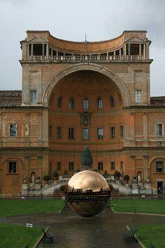 Vatican Museum, Vatican City, Rome...