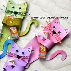 Stránky pro tvořivé - malé i velké - Jaro - Kočička pro radost