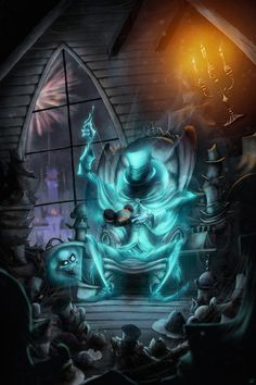 This week's look at the ghosts of The Haunted Mansion focuses on the Hatbox Ghost - aren't familiar with him? That's because he was originally planned as a part of the attraction but never, well, materialized.