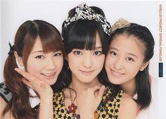 hellopropics:  Haruna Iikubo, Ayumi Ishida & Sakura Oda...