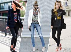 14 formas de usar sua camisa de banda
