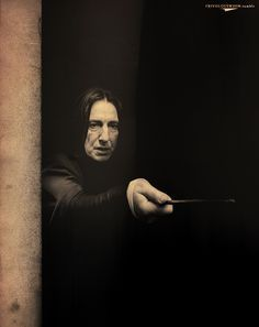 *whispered as he enters the room* Snape. Snape. Severus Snape.
