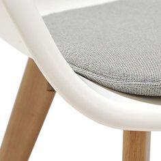 Debenhams Pair Of White Montego Dining Chairs