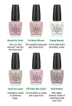 OPI - Hearts & Tarts *GARDEN PARTY COLLECTION* #NLH20 | Nail Care \ Manicure \ Nail Polish |