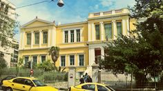 """""""GREEK CITY WALKS"""" are a series of iOS apps for travelers who want a taste of the """"local"""" experience as well as locals who. Modern City, Concert Hall, Neoclassical, Athens, Old Things, Walking, Street View, Mansions, House Styles"""