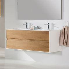 Hydra Cambrian Meuble salle de bain 120 cm option armoire de