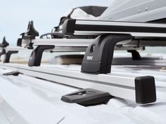 Thule SmartClamp System 6300 Ducato basisrails Thule Roof Rack, Caravan, Peugeot, Camper, Outdoor, Baggage, Cover Up, Outdoor Camping, Simple