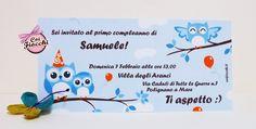 Invito per il primo compleanno del piccolo Samuele