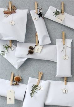 stylish advent calendar idea//