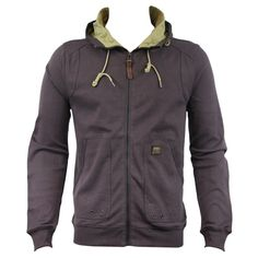 Duck and Cover 130129 Malone Mens Hoody AW12 Plum