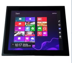 """15"""" Fanless Industrial Panel PC, Capacitive Touchscreen, 1037U CPU, 2G DDR3, 320GB HDD, all in one computer, 15 inch HMI"""