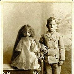 boy with a creepy doll: this also gives me a good story idea
