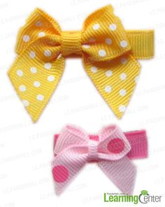This tutorial is going to inform you a way of how to make hair accessories for girls; to be more specific, with this tutorial you will create a cute bow hair clip which can be presented as gift for valentine s day.