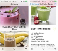 You've been asking and it's finally here! Our NutriLiving Recipes app brings the latest NutriBullet recipes straight to your fingertips! Look up and sort through hundreds of recipes, save your...
