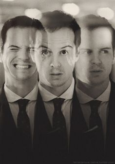 Moriarty. Hands down. Favorite villain. Ever. Played by Andrew Scott in BBC Sherlock.