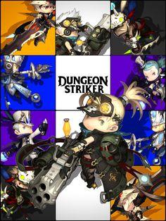 Dungeon Striker poster