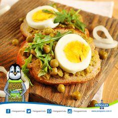 Penguen Bezelye ile keyifli atıştırmalıklar hazırlayabilirsiniz. :)