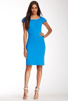 $365, Diane von Furstenberg Dvf Helen Cap Sleeve Bodycon Dress. Sold by Nordstrom Rack. Click for more info: https://lookastic.com/women/shop_items/102910/redirect