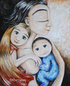 Motherhood 2 children print $19