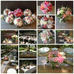 June Wedding - www.DragonflyFloral.com - #peonies #dragonflyfloral Farm Wedding, Wedding Table, Wedding Ideas, June Events, Marrying My Best Friend, Marry Me, Peonies, Bouquets, I Am Awesome